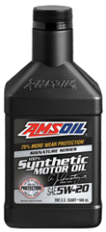 AMSOIL SYNTETYCZNY OLEJ SILNIKOWY 5W20 3,8L Signature Series Synthetic Motor Oil